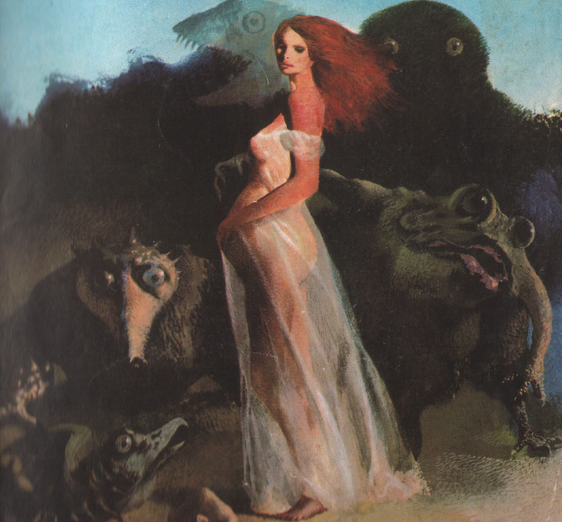 Karel Thole - Detail from Vampir Horror Roman - 018