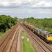 66712 + 66552 - North Staffs junction