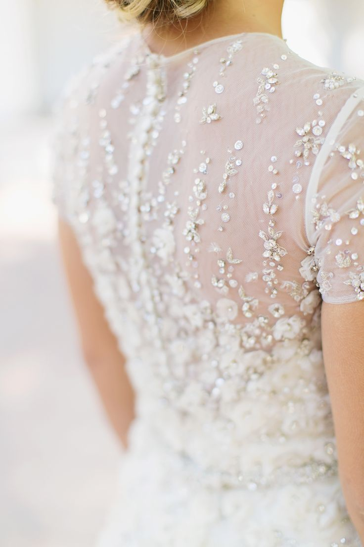 Wedding Dress Ideas   : 29 GLITZ & GLAM GOWNS ~ on #SMP you're sure to love! www.StyleMePretty... #NewYe...