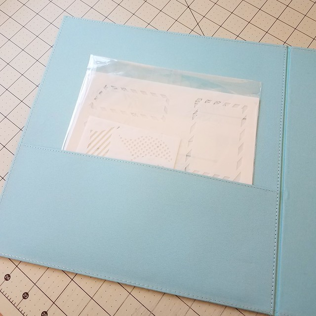 Stencil Binder Pocket