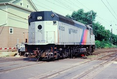 NJT 4123 at South Amboy, NJ