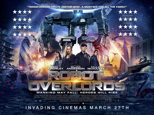 Robot Overlords - Poster 1