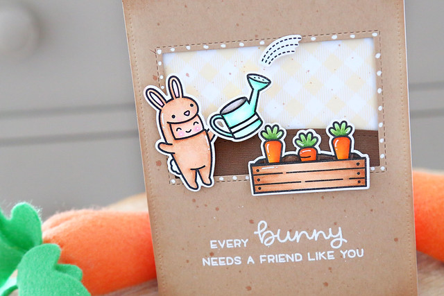 Some bunny (Lawn Fawn inspiration week)