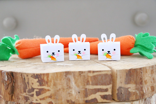 tiny bunny gift box (Lawn Fawn inspiration week)