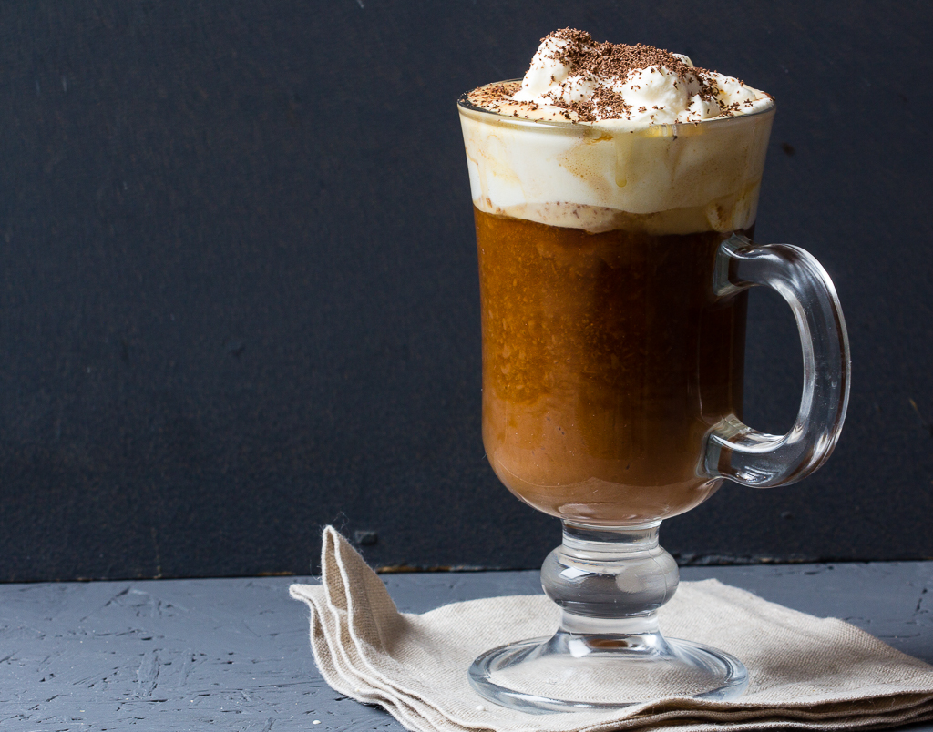 Heisse Schokolade mit Espresso via lunchforone