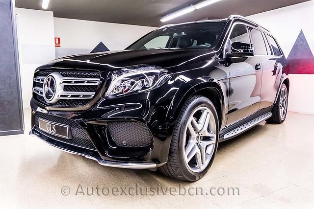 Mercedes Benz GLS 350d AMG   Negro   Piel Negra   258 c.v   Auto Exclusive BCN