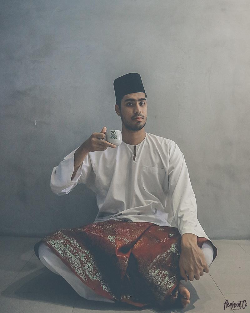 the white kurung x abdullah