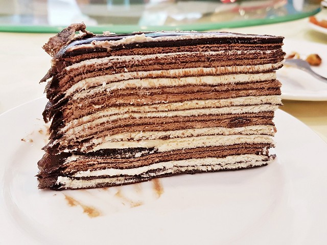 Mille Crepe Cake - Belgian Chocolate