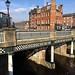 Lady's Bridge, River Don, Sheffield