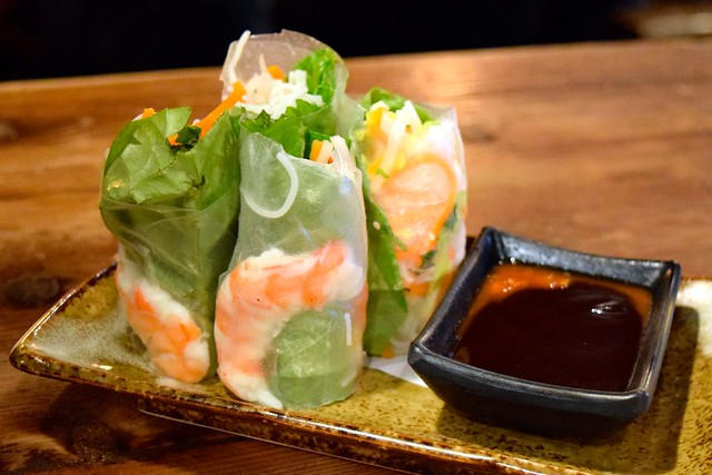 Traditional Summer Rolls at Vietfood, Chinatown #vietnamese #chinatown #london