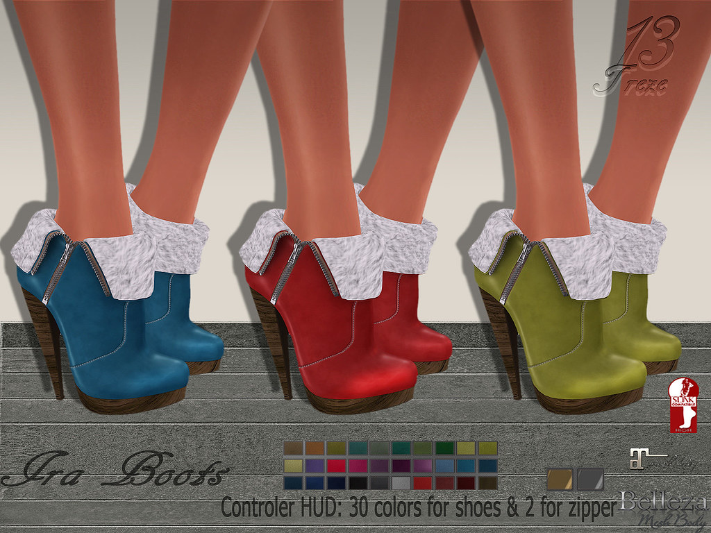 Treze. Ira Boots special offer new release! - TeleportHub.com Live!