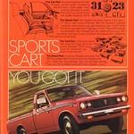 Sun, 2015-05-24 14:20 - 1978 Toyota SR-5 Pickup Truck Advertisement Playboy May 1978