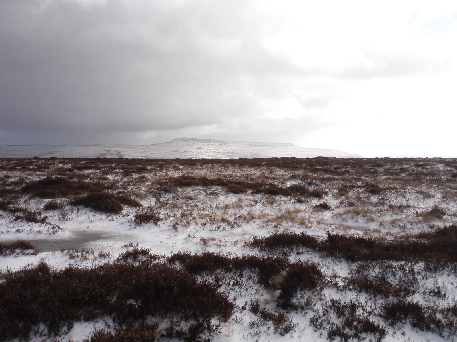 Southerly Black Mountains from Mynydd Llangorse SWC Walk 308 - Bwlch Circular (via Mynydd Troed and Llangorse Lake)