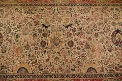 Moghul carpet, Lahore, ca. 1610; Pergamon Museum, Berlin (2)
