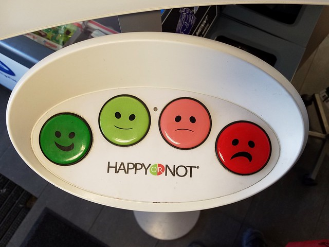 happy or not?