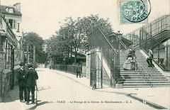 Passage de la Station-de-Ménilmontant. CC BY SA Claude Shoshany