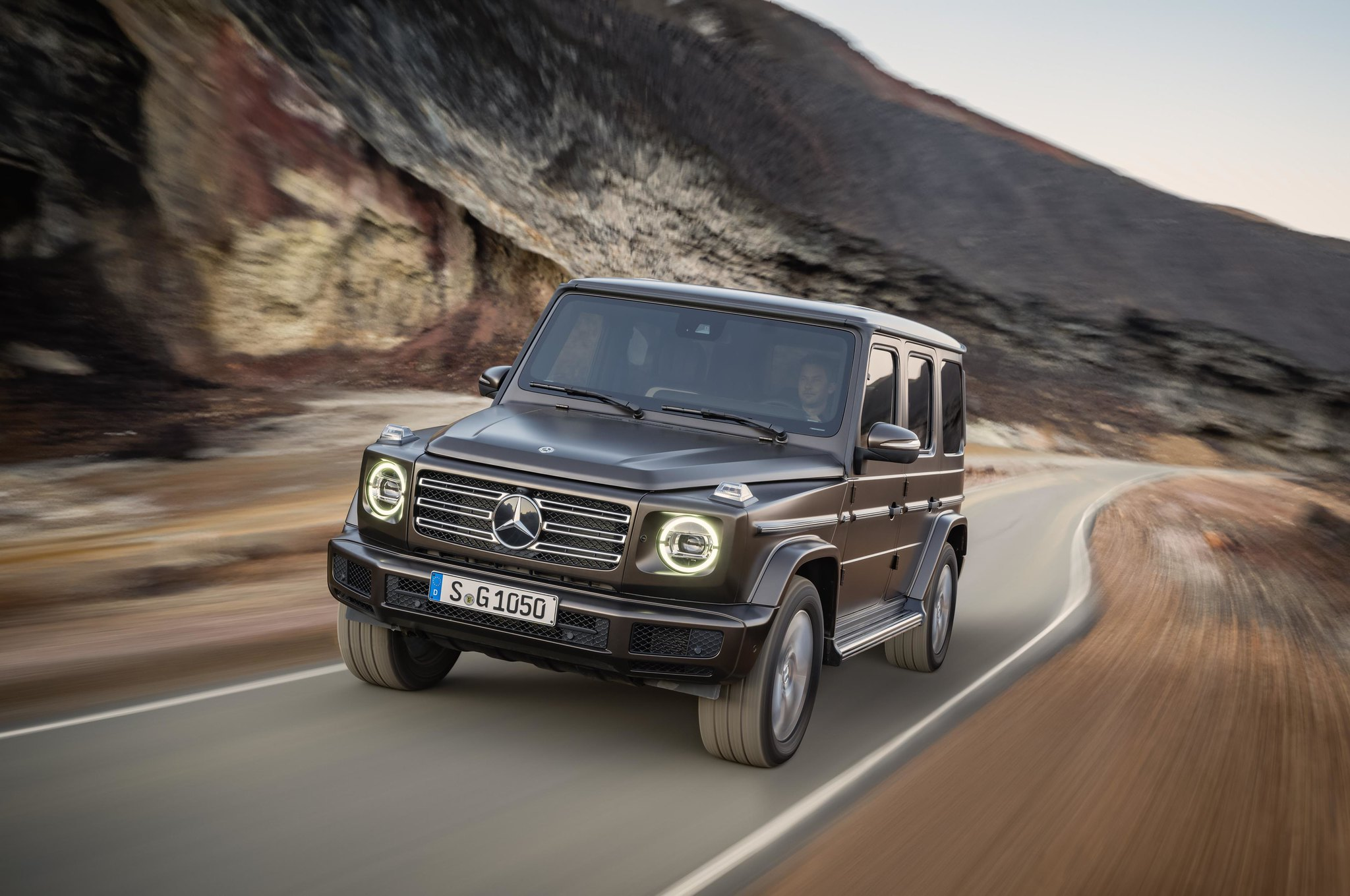 This is the 2019 Mercedes G-Class