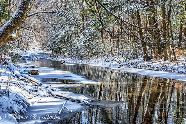Winter on Cranberry River