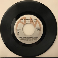 THE BROTHERS JOHNSON:I'LL BE GOOD TO YOU(RECORD SIDE-A)
