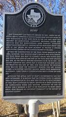 Kemp Marker (Kemp, Texas)