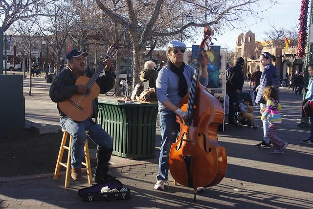 Musicians at Santa Fe