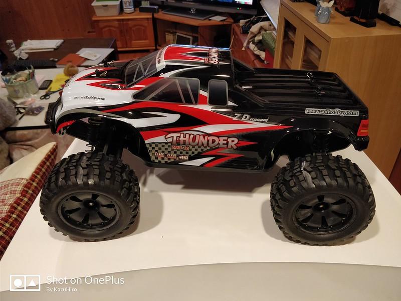 ZD Racing 10427 ラジコンカー 開封レビュー (38)