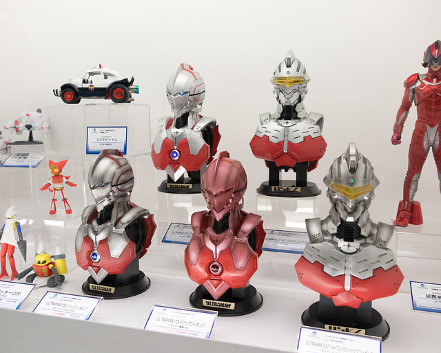 Photo:ULTRAMAN バストアップフィギュア, アクアマリン, Wonder Festival 2018[Winter] By daisukekoba