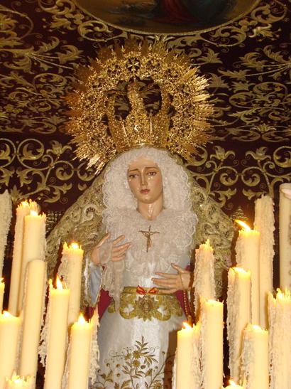 Antigua y Fervorosa Hermandad y Cofradia de Nazarenos de Nuestro Padre Jesús Orando en el Huerto y Maria Santísima de la Encarnación.
