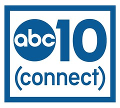 ABC10 Connect logo with box BLUE