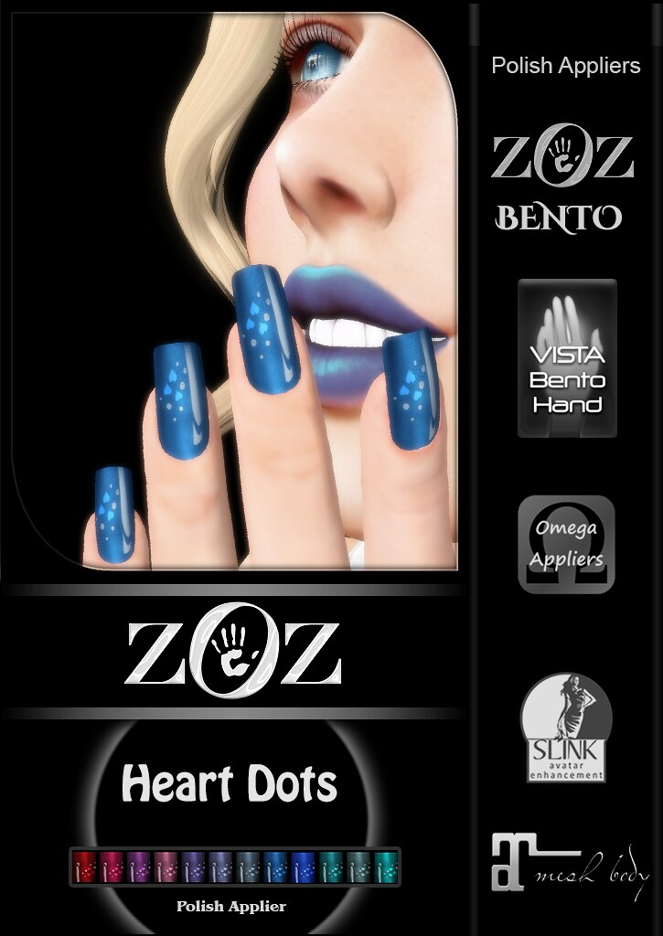 {ZOZ} Heart Dots pix L - TeleportHub.com Live!