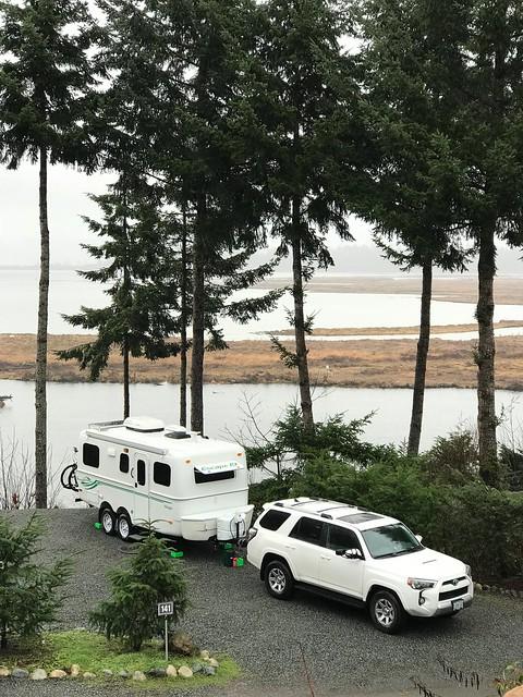 Nanaimo - campsite
