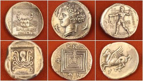 AncientGreekCoins exhibit