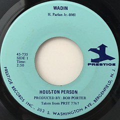 HOUSTON PERSON:WADIN(LABEL SIDE-A)