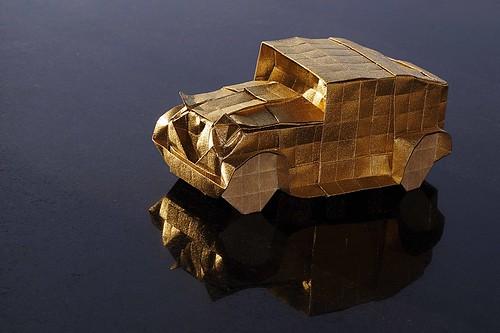 Origami Vintage Car (Akira Kawamura)