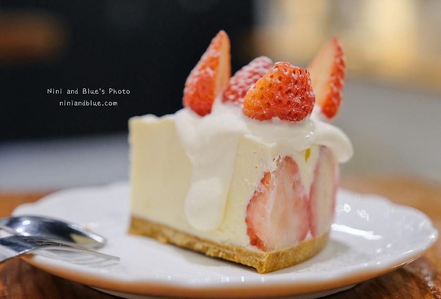 草屯咖啡草莓甜點 甜客思15
