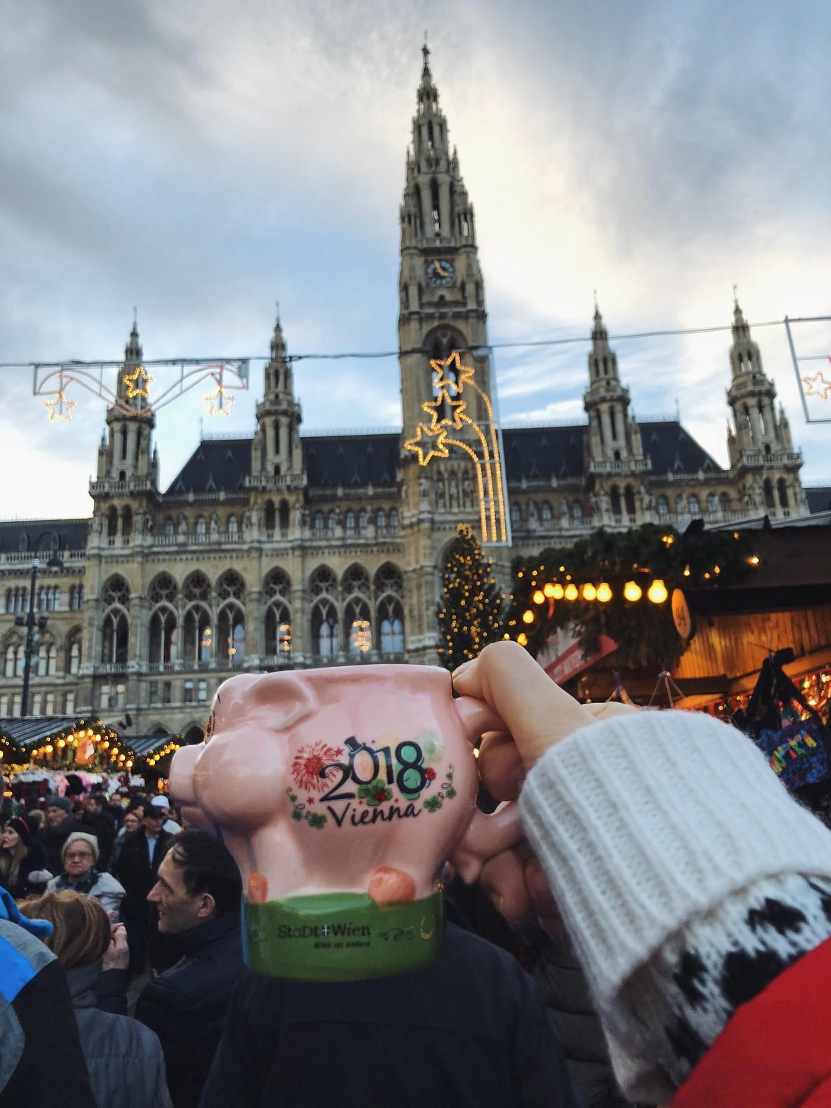 новогодняя ярмарка в Вене