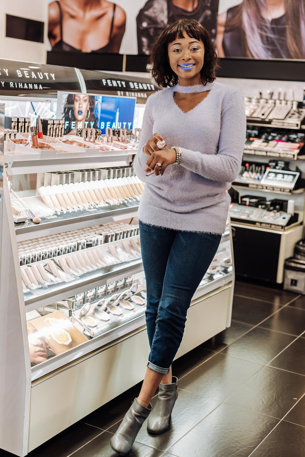 how to wear the fenty beauty mattemoiselle lipsticks