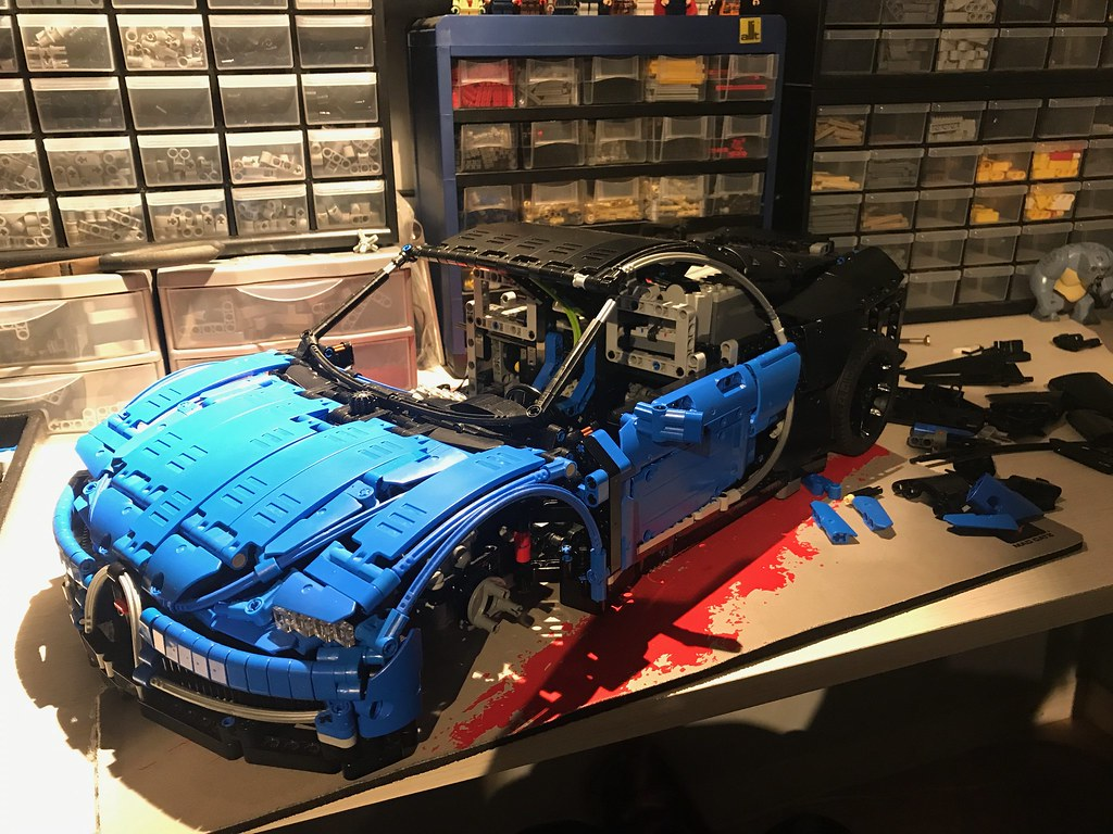 wip bugatti chiron 1 8 page 2 lego technic. Black Bedroom Furniture Sets. Home Design Ideas
