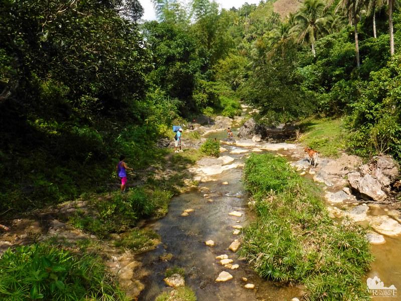 A bit of river trekking