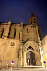 FR10 1082 Le Collégiale de Saint-Michel. Castelnaudary, Aude, Languedoc