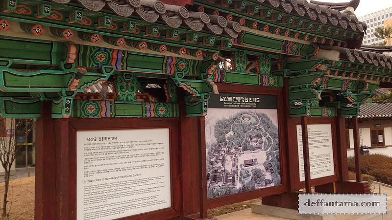 5 hari di Seoul - Namsangol Hanok Village 1