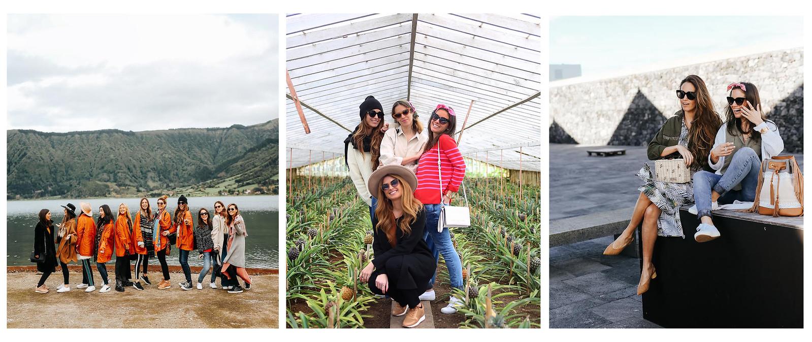 PARFOIS AZORES EVENTO 2018 THEGUESTGIRL ANDREA BELVER ATRENDY LIFE MARTA CARRIEDO DANSVOGUE COOHUCO AGOSTINA SARRACO EREA LOURO CHANTAL TORRES JESSIE CHANES SEAMSFORADESIRE LAURA SANTOLARIA BOLSO PARFOIS SS18 VIAJE AZORES INFLUENCERS ESPAÑOLAS