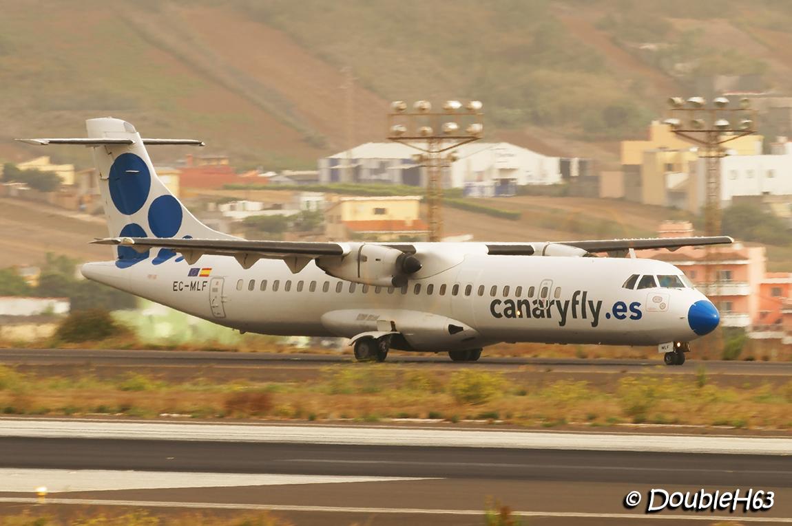 EC-MLF ATR72 CanaryFly TFN