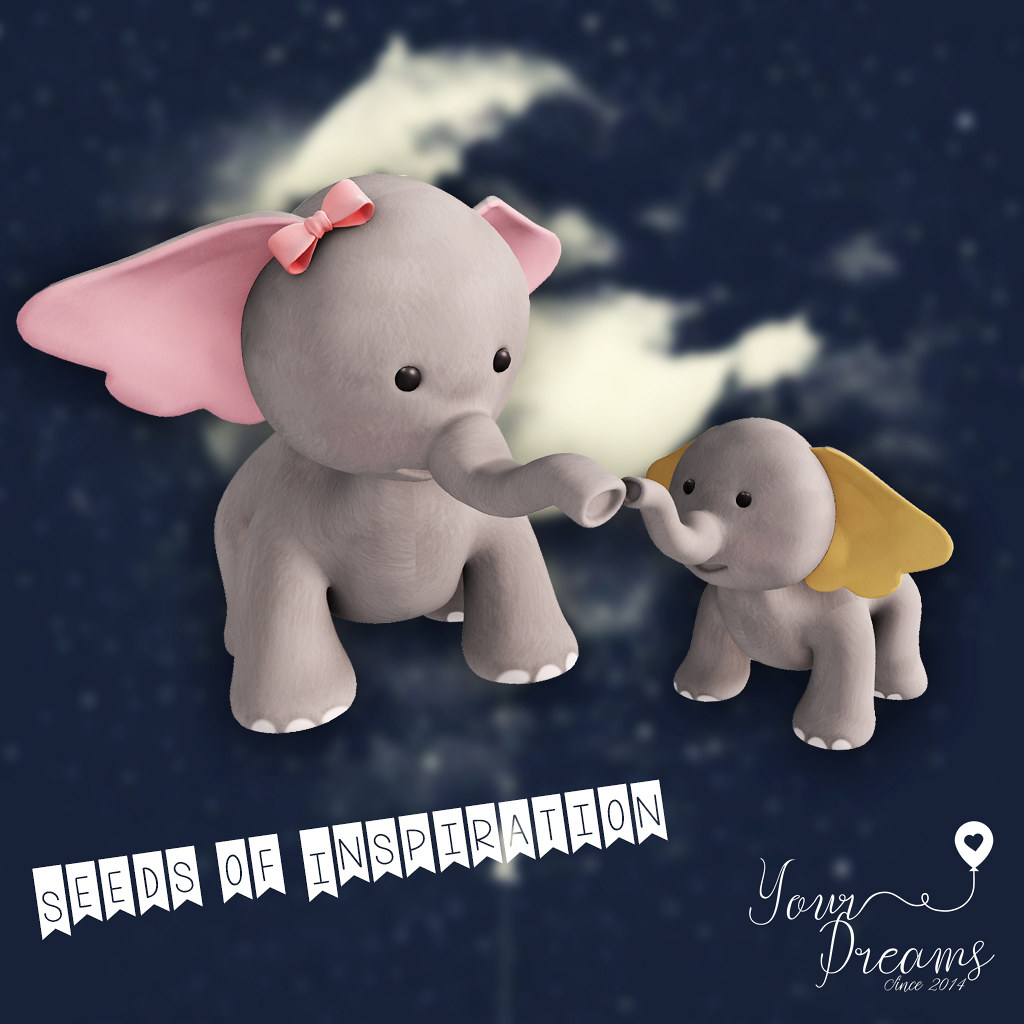 {YD}Elephant Puppies - TeleportHub.com Live!