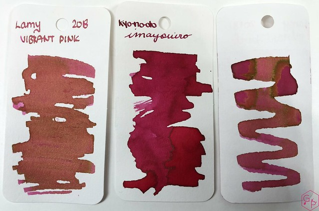 Ink Shot Review @LAMY Vibrant Pink 2018 Ink @laywines 31