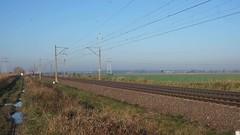 Züge in Plewiska westlich von Posen