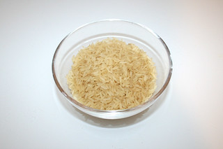 19 - Zutat Langkornreis / Ingredient long grain rice