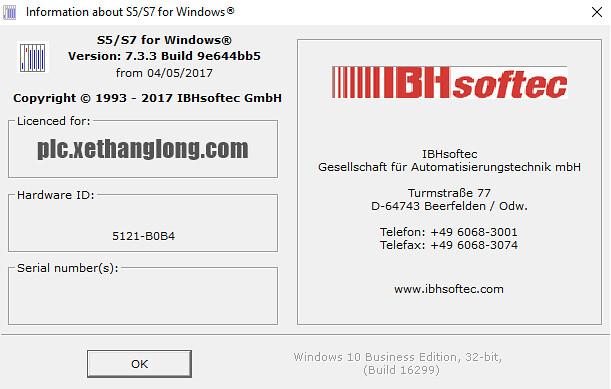 Phần mềm lập trình PLC Siemens S5, S7