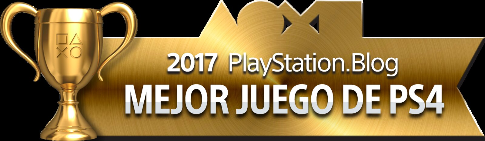 PlayStation Blog Game of the Year 2017 - Best PS4 Game (Gold)
