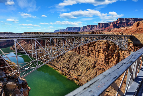 bridge over water river mountain road canyon west landscape new travel highway background sky stone gorge nature lake mountains hill summer stream old view green color beautiful tourism outdoor nobody scenic engineering construction southwest arch usa red blue rock navajo steel landmark architecture arizona